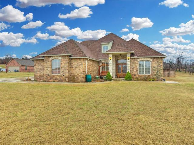 7617 Jesse Trail, Choctaw, OK 73150 (MLS #826398) :: Wyatt Poindexter Group