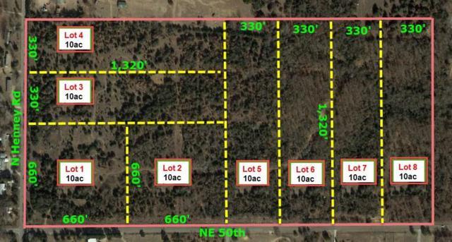 5100 N Henney Lots 1 & 2, Choctaw, OK 73020 (MLS #826667) :: Wyatt Poindexter Group