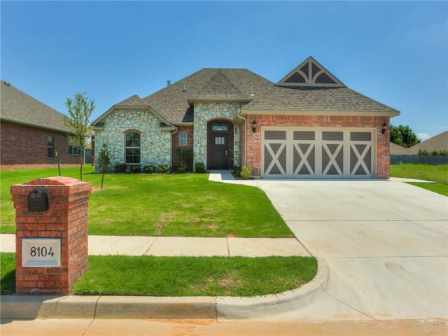 8104 Lillas Way, Yukon, OK 73099 (MLS #827078) :: Wyatt Poindexter Group