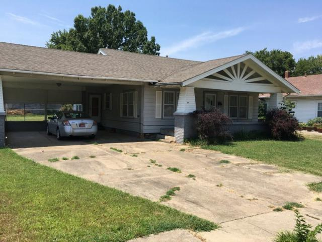 221 S 5th, Okemah, OK 74859 (MLS #827346) :: Erhardt Group at Keller Williams Mulinix OKC