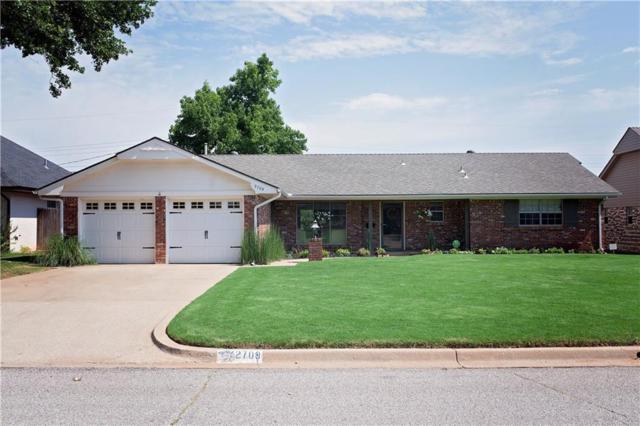 2709 NW 58th Place, Oklahoma City, OK 73112 (MLS #827378) :: Meraki Real Estate