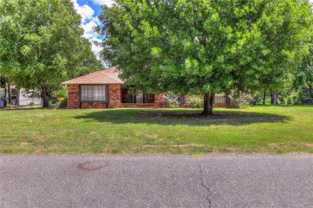 1218 Willow Drive, Choctaw, OK 73020 (MLS #827534) :: Erhardt Group at Keller Williams Mulinix OKC