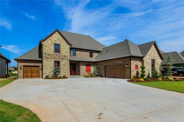 4601 Round Up Road, Edmond, OK 73034 (MLS #827642) :: Homestead & Co