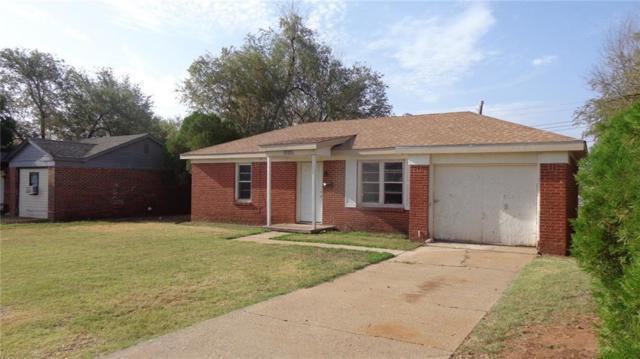 1320 E Oakhurst Street, Altus, OK 73521 (MLS #827788) :: Wyatt Poindexter Group