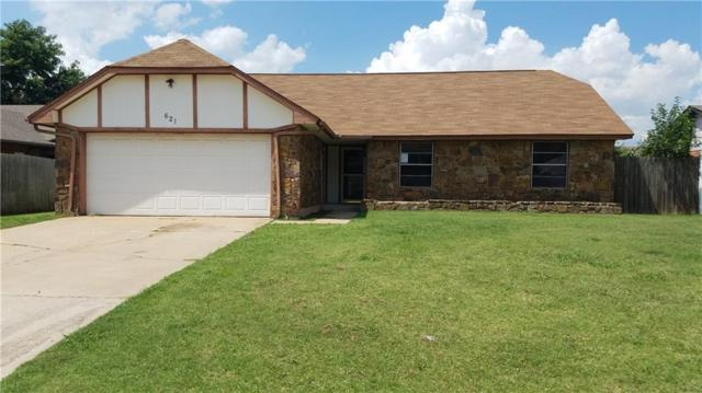 621 SW 26th Street, Moore, OK 73160 (MLS #827948) :: Meraki Real Estate