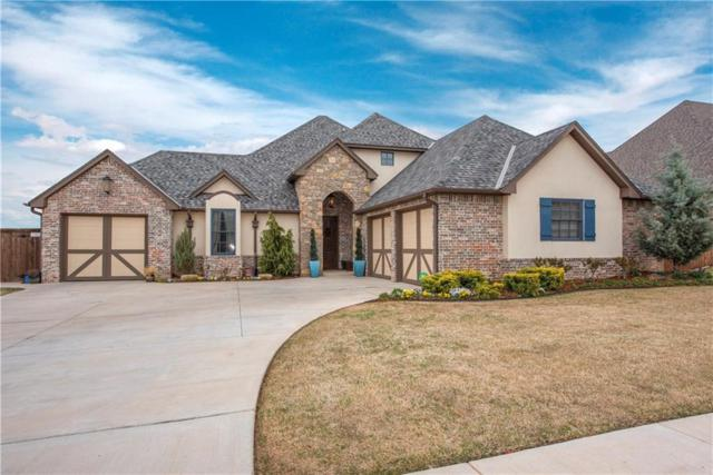 3217 NW 177th, Edmond, OK 73012 (MLS #828289) :: Erhardt Group at Keller Williams Mulinix OKC