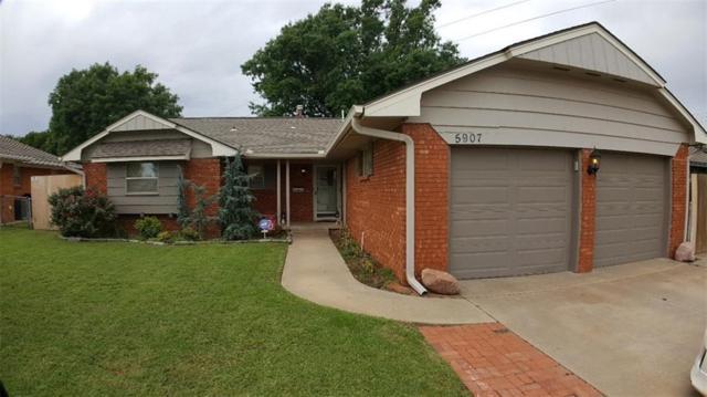 5907 N Tulsa, Oklahoma City, OK 73112 (MLS #828372) :: Erhardt Group at Keller Williams Mulinix OKC