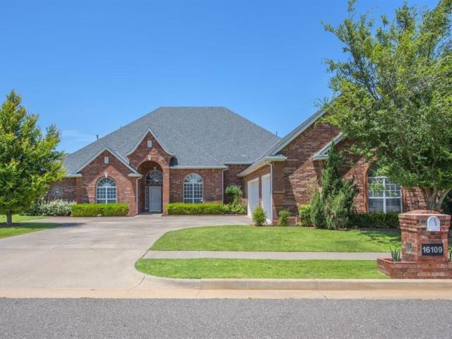 16109 Windrush Place, Edmond, OK 73013 (MLS #828389) :: Meraki Real Estate