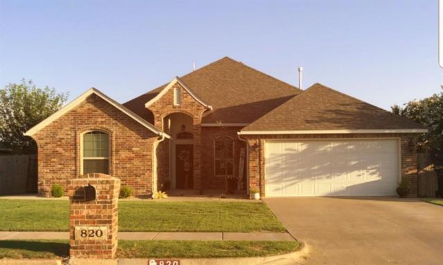 820 SE 8th Street, Moore, OK 73160 (MLS #828400) :: Meraki Real Estate