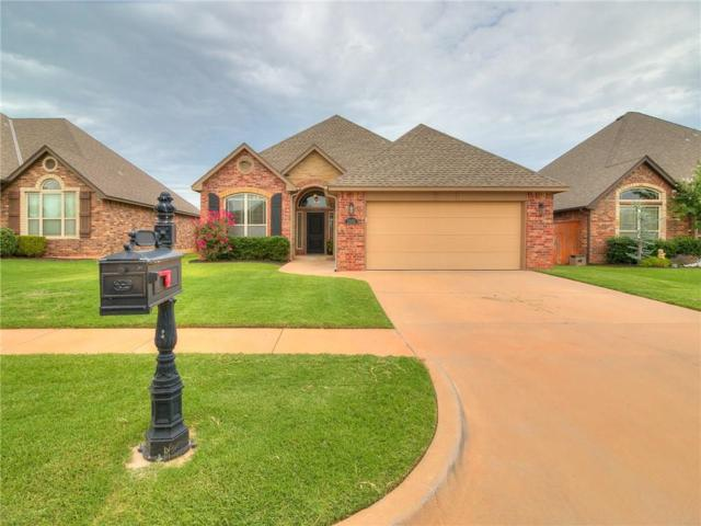15412 Hickory Bend Lane, Edmond, OK 73013 (MLS #828741) :: Homestead & Co