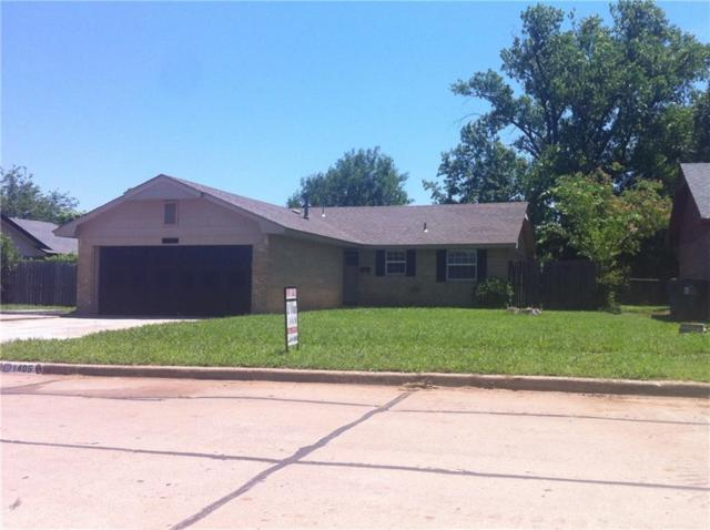 1405 Oakcrest Avenue, Norman, OK 73071 (MLS #828869) :: Wyatt Poindexter Group