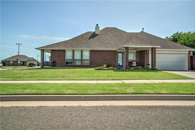 1446 SW 25th Circle, Moore, OK 73170 (MLS #828925) :: Meraki Real Estate