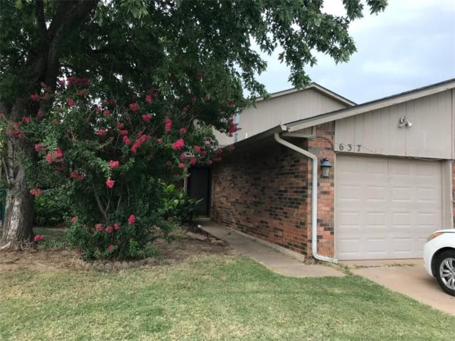 637 121st Terrace, Oklahoma City, OK 73114 (MLS #828953) :: Wyatt Poindexter Group