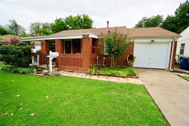 304 E Rose Drive, Midwest City, OK 73110 (MLS #828984) :: Wyatt Poindexter Group