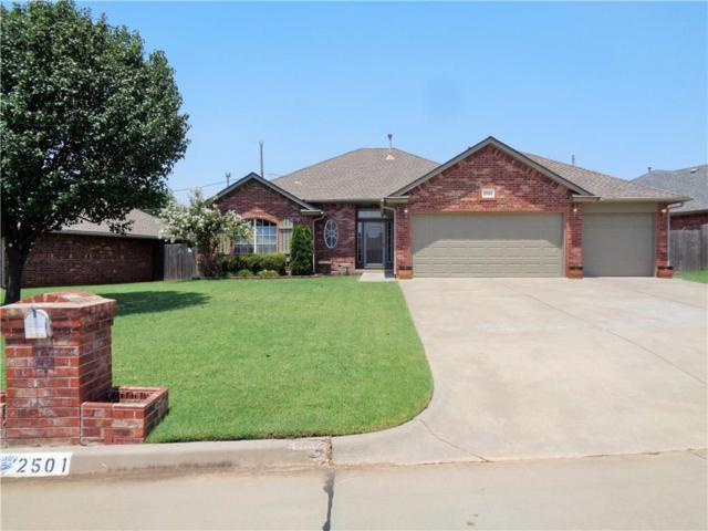2501 Highland Drive, Moore, OK 73160 (MLS #829036) :: Keller Williams Mulinix OKC