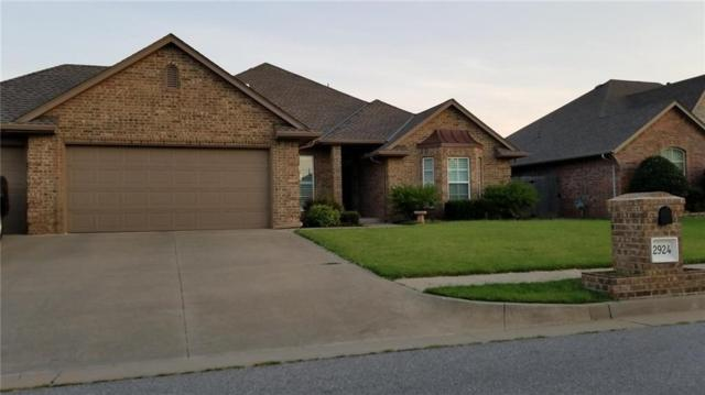 2924 SW 136th Terrace, Oklahoma City, OK 73170 (MLS #829355) :: Homestead & Co