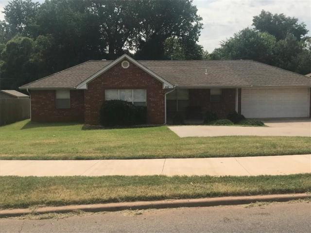 511 N Green Avenue, Purcell, OK 73080 (MLS #829451) :: Homestead & Co