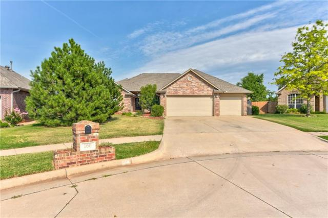 160 N Lakeside Terrace, Mustang, OK 73064 (MLS #829499) :: Wyatt Poindexter Group