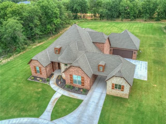 910 Hunters Hollow, Choctaw, OK 73020 (MLS #830546) :: Wyatt Poindexter Group