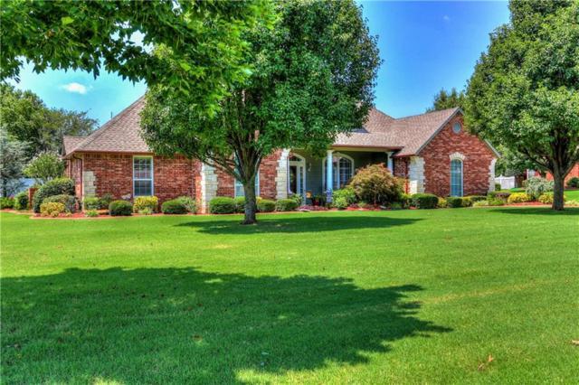 1375 Hidden Valley Lane, Choctaw, OK 73020 (MLS #830806) :: Wyatt Poindexter Group
