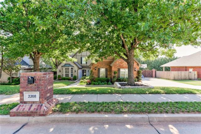 2208 Berrywood Drive, Edmond, OK 73034 (MLS #831047) :: Wyatt Poindexter Group