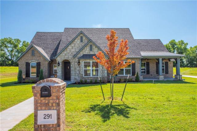 291 Reese Lane, Goldsby, OK 73093 (MLS #831580) :: Erhardt Group at Keller Williams Mulinix OKC