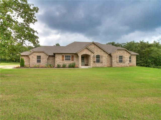 19345 Hunter's Bluff Trail, Newalla, OK 74857 (MLS #832124) :: Wyatt Poindexter Group