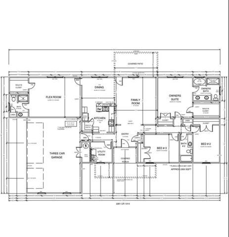 2261 County Road 1314, Blanchard, OK 73010 (MLS #832382) :: Erhardt Group at Keller Williams Mulinix OKC
