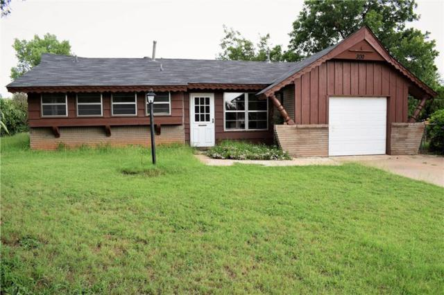300 Redstone Drive, Blanchard, OK 73010 (MLS #832466) :: Wyatt Poindexter Group