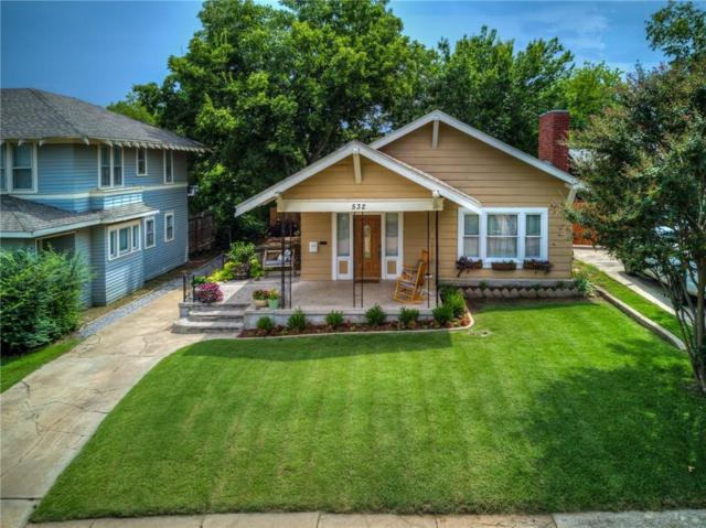 532 NW 32nd Street, Oklahoma City, OK 73118 (MLS #832769) :: Erhardt Group at Keller Williams Mulinix OKC
