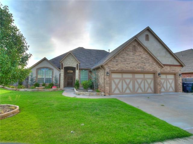 500 Old Home Place, Yukon, OK 73099 (MLS #832889) :: Wyatt Poindexter Group