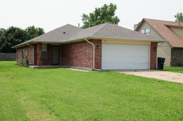 232 121st Street, Oklahoma City, OK 73114 (MLS #832918) :: Erhardt Group at Keller Williams Mulinix OKC