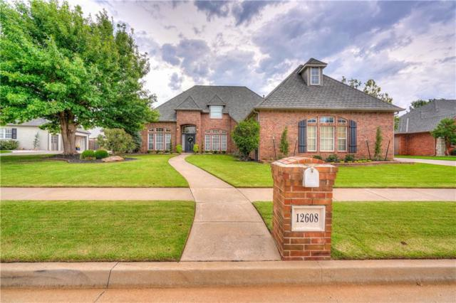 12608 Brickstone Court, Oklahoma City, OK 73142 (MLS #833144) :: Wyatt Poindexter Group