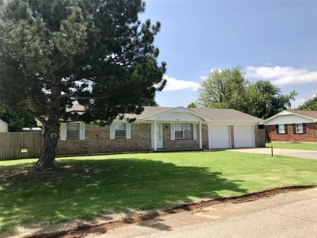 1003 SW Cedar Drive, Minco, OK 73059 (MLS #833200) :: Wyatt Poindexter Group