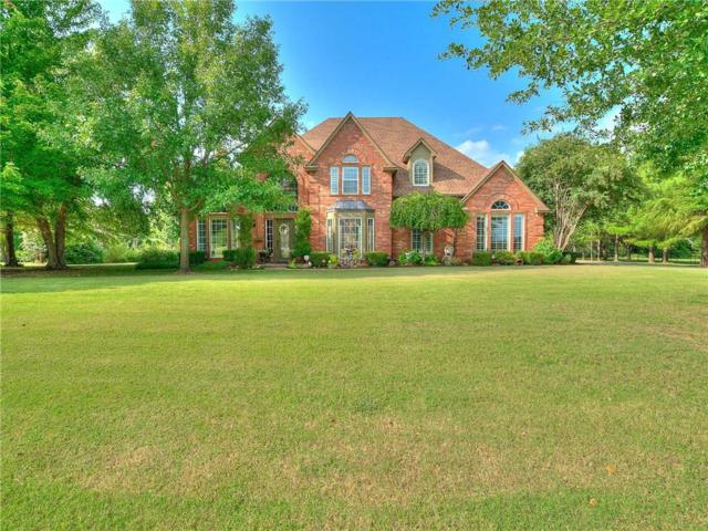 470 Hickory Hill, Choctaw, OK 73020 (MLS #833248) :: Wyatt Poindexter Group