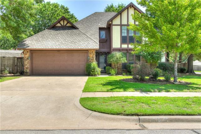 421 Kensington, Norman, OK 73072 (MLS #833290) :: Erhardt Group at Keller Williams Mulinix OKC