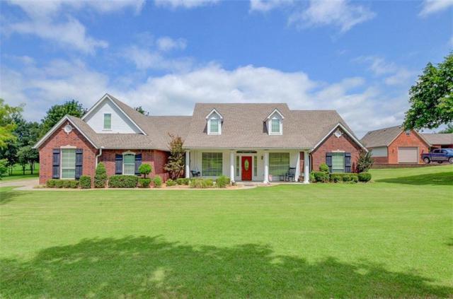 16367 Riverrock Circle, Choctaw, OK 73020 (MLS #833419) :: Wyatt Poindexter Group