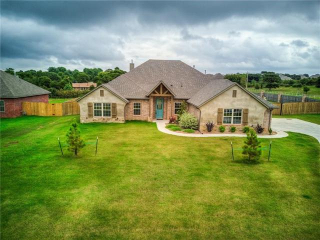 108 Oakridge Drive, Choctaw, OK 73020 (MLS #833599) :: Wyatt Poindexter Group