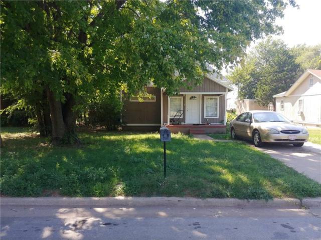 1318 S 2nd St, Chickasha, OK 73018 (MLS #834149) :: Erhardt Group at Keller Williams Mulinix OKC