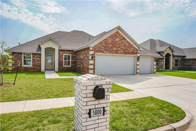 5800 Sanderling Road, Oklahoma City, OK 73179 (MLS #834213) :: KING Real Estate Group