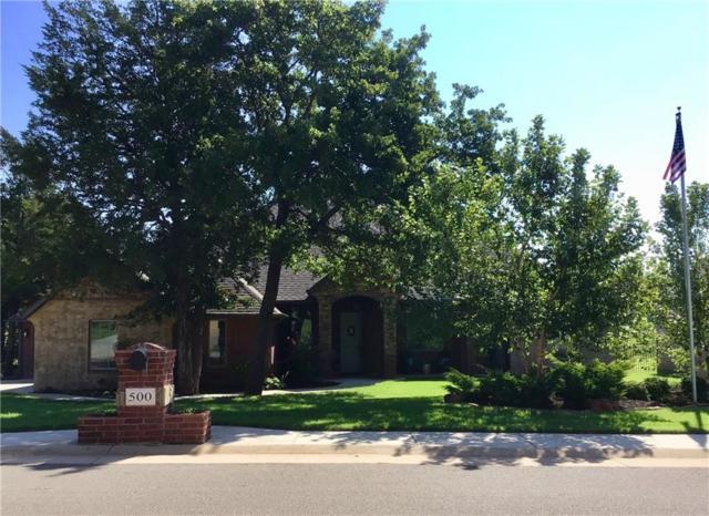 500 Seville Drive, Edmond, OK 73034 (MLS #834324) :: Wyatt Poindexter Group