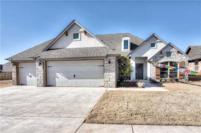 8217 Dax Drive, Edmond, OK 73034 (MLS #834336) :: Wyatt Poindexter Group