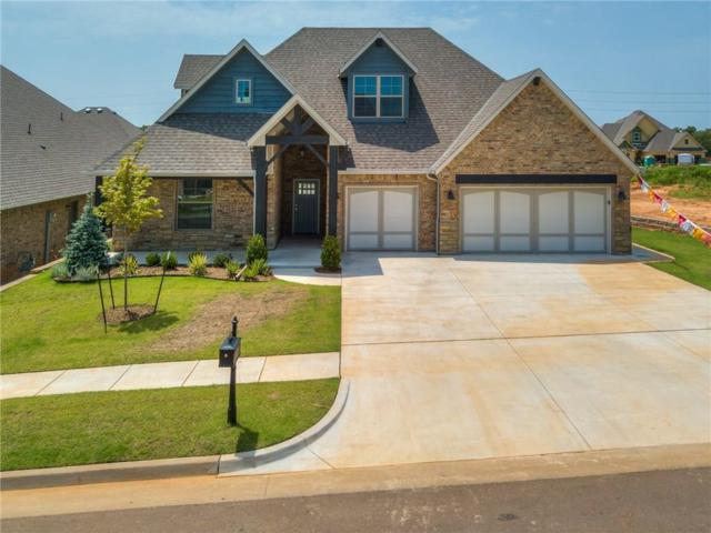 8124 Crew Lane, Edmond, OK 73034 (MLS #834693) :: UB Home Team