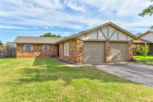 801 W Forest Drive, Mustang, OK 73064 (MLS #834856) :: Wyatt Poindexter Group