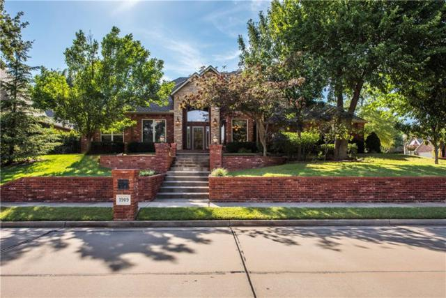 1909 Olde Depot Drive, Edmond, OK 73034 (MLS #835200) :: Wyatt Poindexter Group