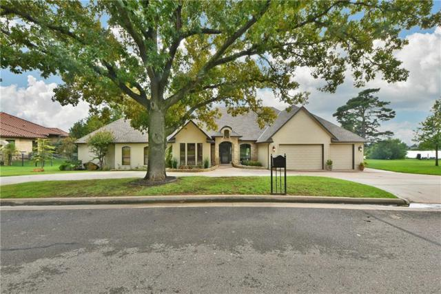 15524 Laguna Drive, Edmond, OK 73013 (MLS #835387) :: Homestead & Co