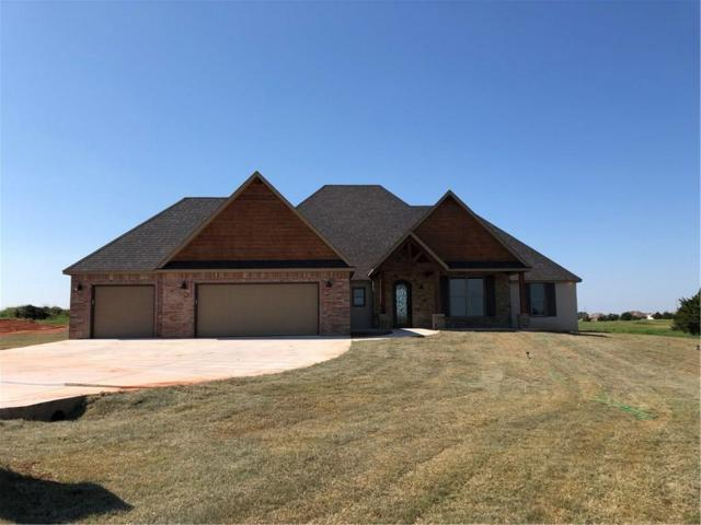 2267 Barrington Place Drive, Blanchard, OK 73010 (MLS #835439) :: Wyatt Poindexter Group