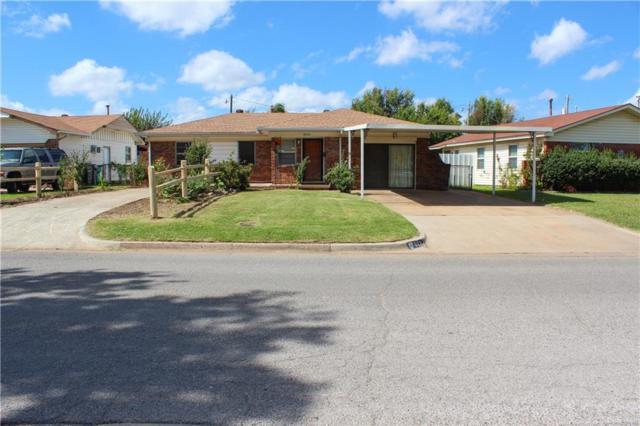 6521 S Miller Avenue, Oklahoma City, OK 73159 (MLS #835489) :: Erhardt Group at Keller Williams Mulinix OKC