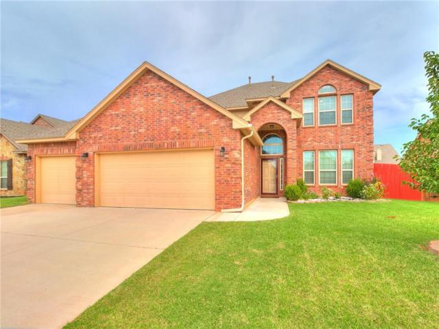 11005 SW 39th Court, Mustang, OK 73064 (MLS #835563) :: Wyatt Poindexter Group