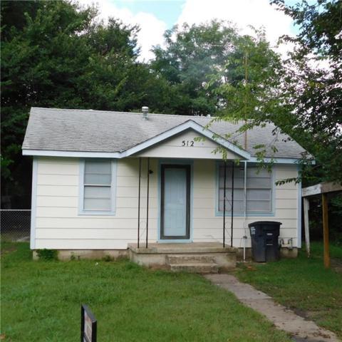 512 N Ione Avenue, Shawnee, OK 74801 (MLS #835923) :: Wyatt Poindexter Group